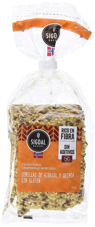 Sigdal Bakeri, Pane de semilla envasado (Semillas de girasol y ...