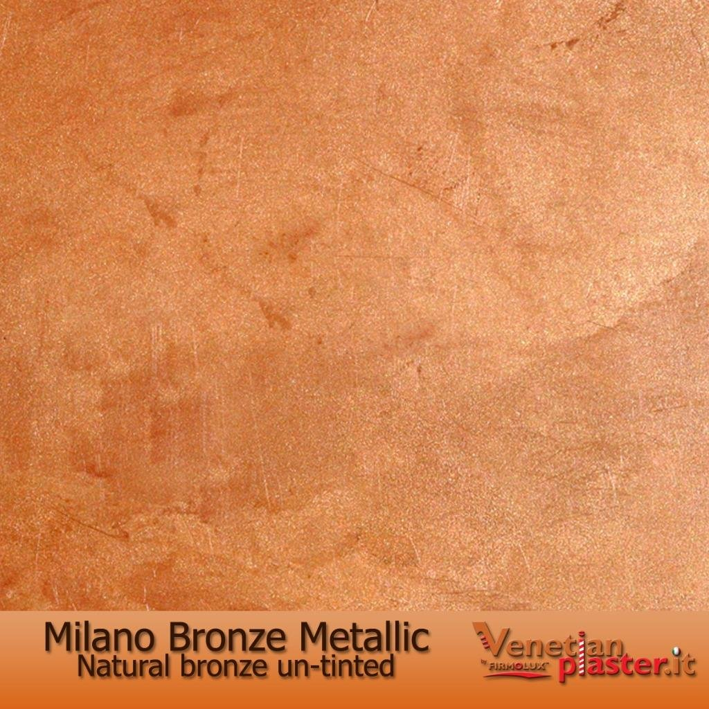 Milano Bronze Metallic (Fine) Authentic Venetian Metallic Plaster from Italy. The ultimate in luxury finishes.