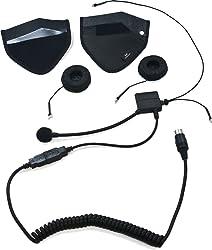 iMC Motorcom HS-H170P Speaker Pouch Half-Helmet Headset