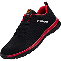 DYKHMATE Zapatillas de Deportes Hombre Ligero Transpirable Zapatos para Correr Gimnasio Casual Sneakers