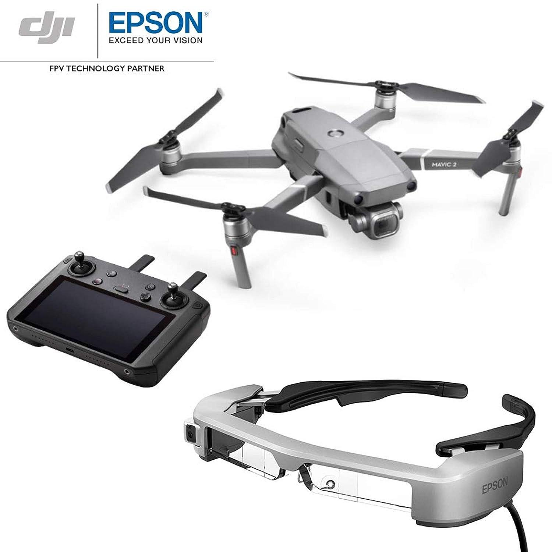 DJI Mavic 2 Pro con Controlador Inteligente + Gafas Epson FPV BT ...