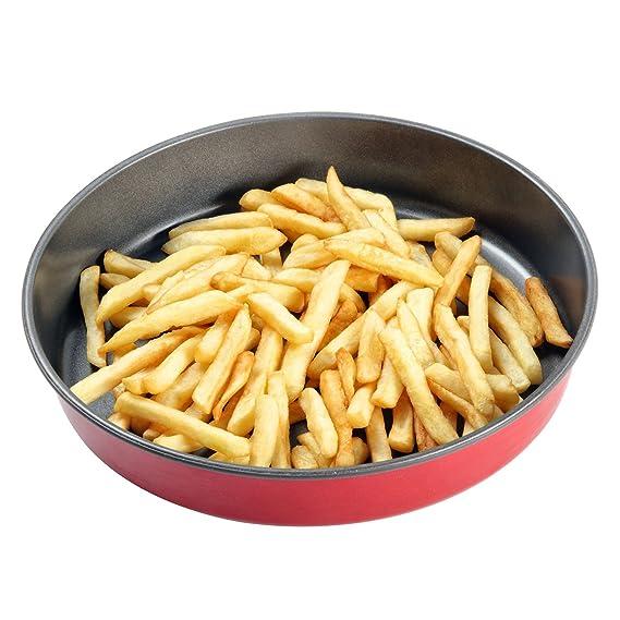 Profundo plato para función Crisp de microondas y horno bandeja ...