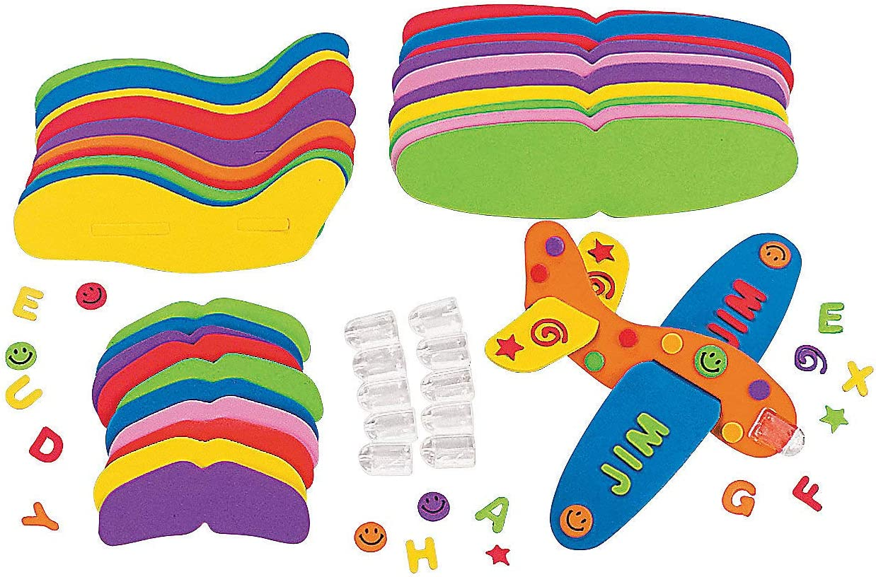 Do It Yourself Fabulous Foam Great Gliders - Crafts for Kids and Fun Home Activities