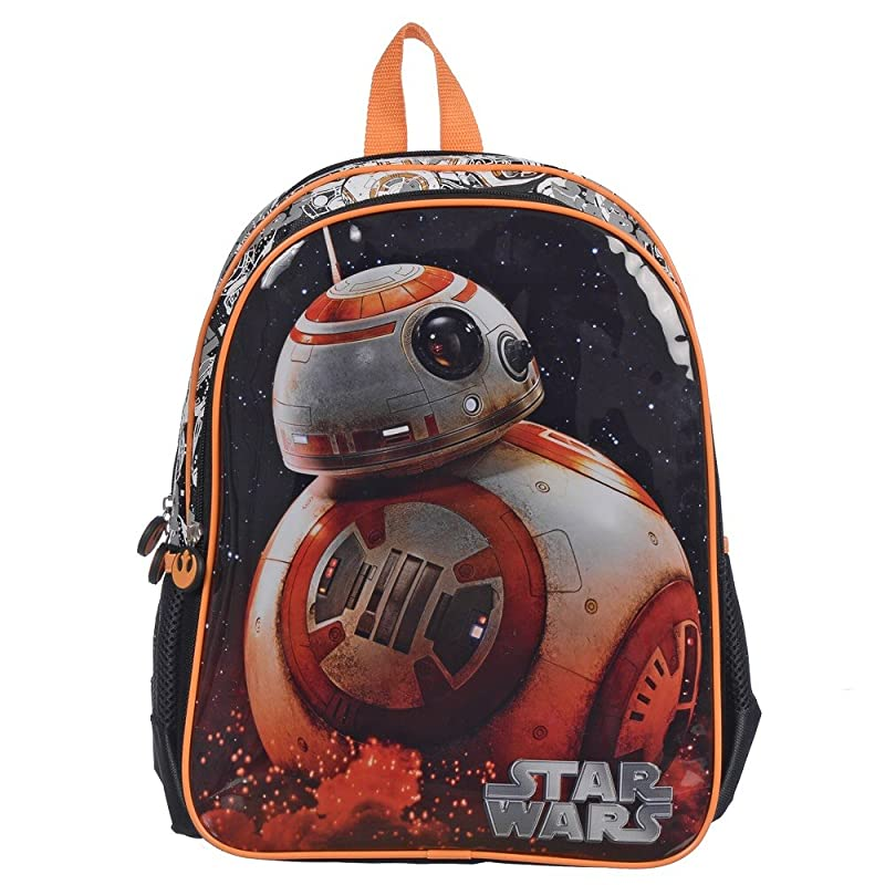 d03ca4d6fe9b Star Wars BB-8 Backpack  Black . This Star Wars full sized themed backpack  is perfect to carry all of your child s school supplies.