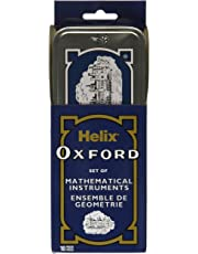 "Maped Z38XH0 Helix Oxford 10 Piece Math Set, Compass, 6"" Ruler, Protractor, and More"
