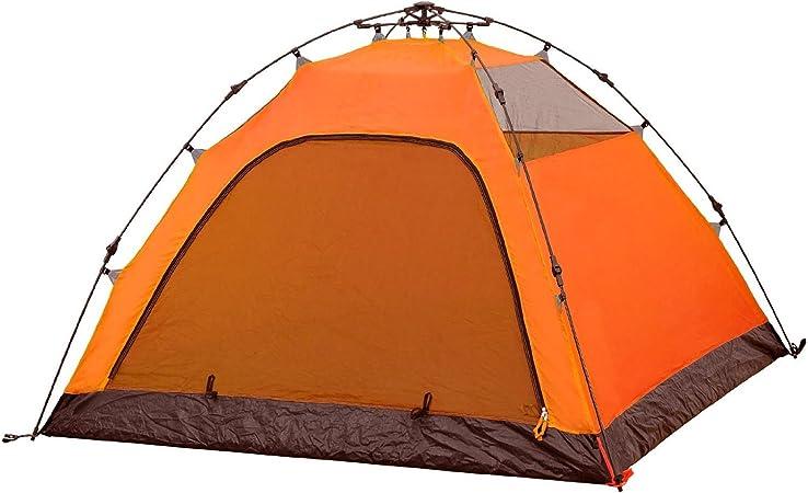 Prodigital - Tienda de montaje inmediato, modelo Iglú canadiense, medidas: 200 x 150 cm (3 – 4 plazas), perfecto para acampadas improvisadas y para la playa, montaje automático en 30 segundos: Amazon.es: Jardín
