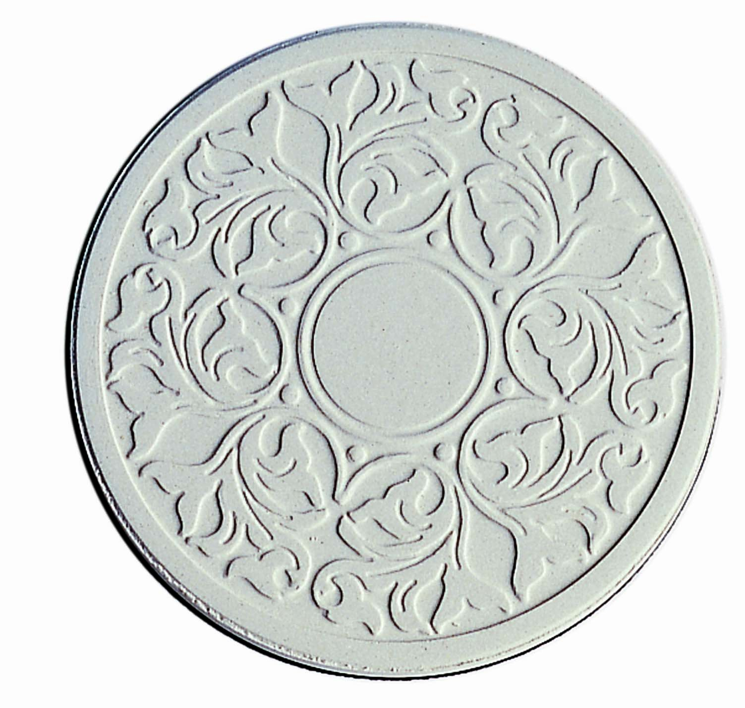 """CoasterStone Absorbent Stone Coasters, """"Victorian Lace'' Set of 4"""