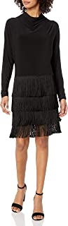 product image for Norma Kamali Women's Fringe All in One Dress