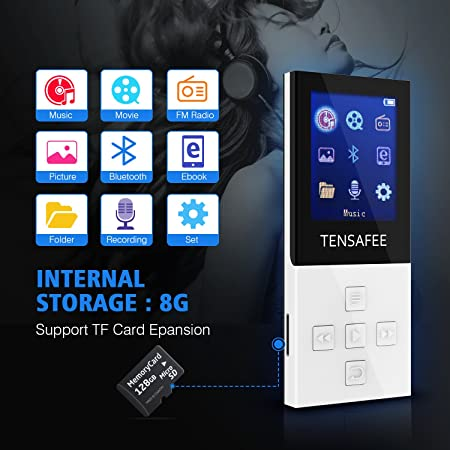e35d7d991e26f MP3 Player Bluetooth TENSAFEE