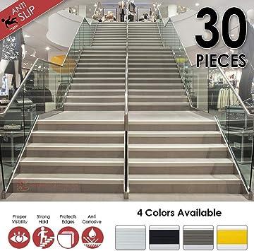 Arrowzoom - Pisadas de escalera de proteccion de bordes de 30 piezas 50 x 5 x 2