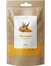 Cúrcuma en Polvo 100% Orgánica 500gr Carefood | Ecológica Procedente de la India | Superalimento