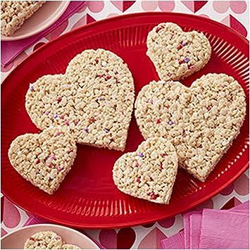 Wilton - Juego para hacer galletas de San Valentín (4 moldes), 2104-5938: Amazon.es: Hogar