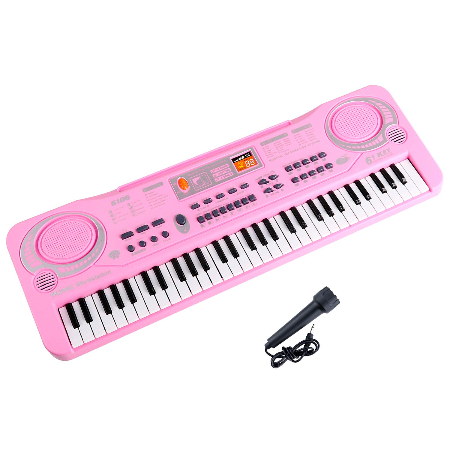 Amazon Piano Keyboard for 2 6 year old Girls 2018 Improved