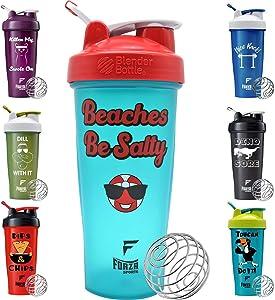 Blender Bottle x Forza Sports 28 oz. Classic Shaker - Beaches Be Salty
