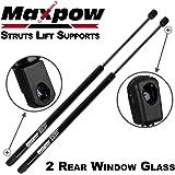 Maxpow 1 Pair Rear Window Lift Supports Shocks Struts Fits 2006-2010 Jeep Co...