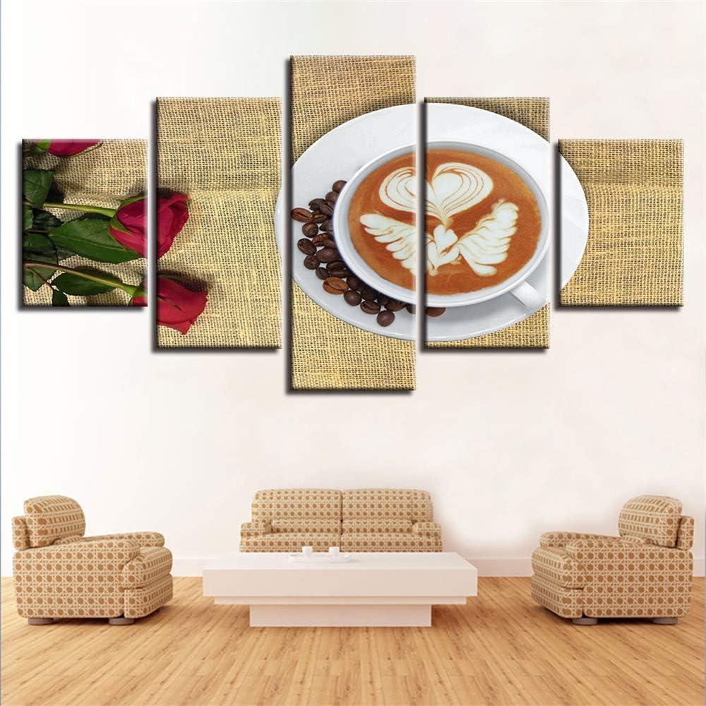 Pintura decorativa, Cinco libros de impresión de hechizos café ...