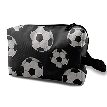 632859bbf878 Amazon.com: HIHQ1A Soccer Balls Black Multifunction Portable Make-up ...