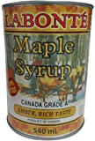 Labonté Pure Maple Syrup AMBER RICH TASTE 540 Milliliter