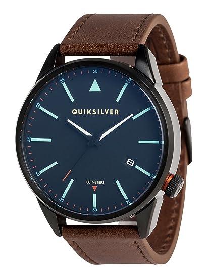 Quiksilver - Reloj Analógico - Hombre - ONE SIZE - Negro: Quiksilver: Amazon.es: Ropa y accesorios