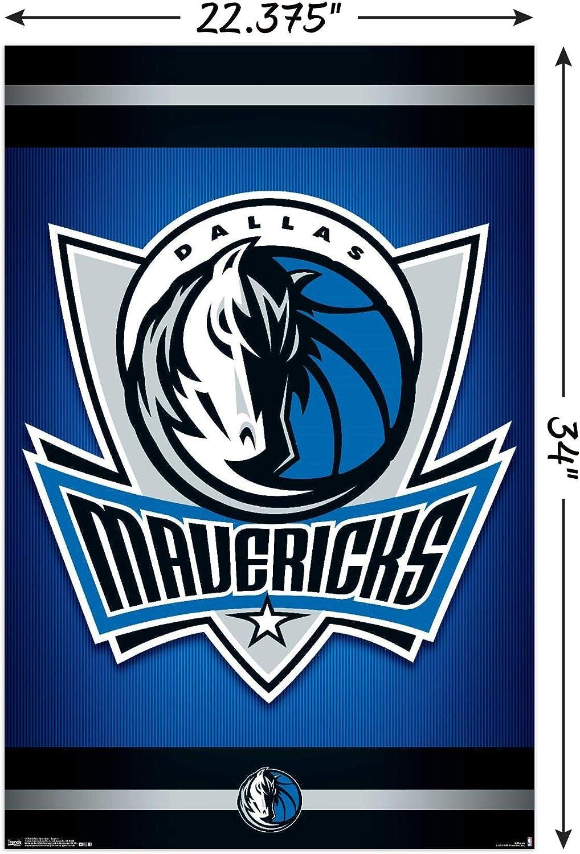 Trends International Dallas Cowboys-Retro Logo Mount Bundle Wall Poster 22.375 x 34 Multi
