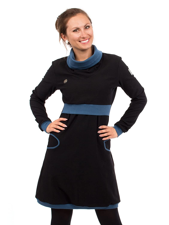 Neele Stillkleid Viva la Mama 3in1 Umstandskleid Winterkleid aus Baumwolle