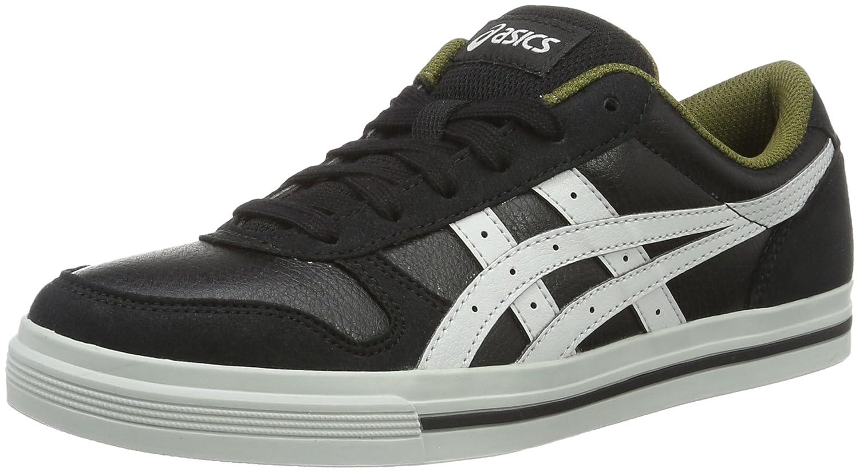 Asics Herren Aaron Sneaker, Grau  39.5 EU Schwarz (Black/Light Grey)