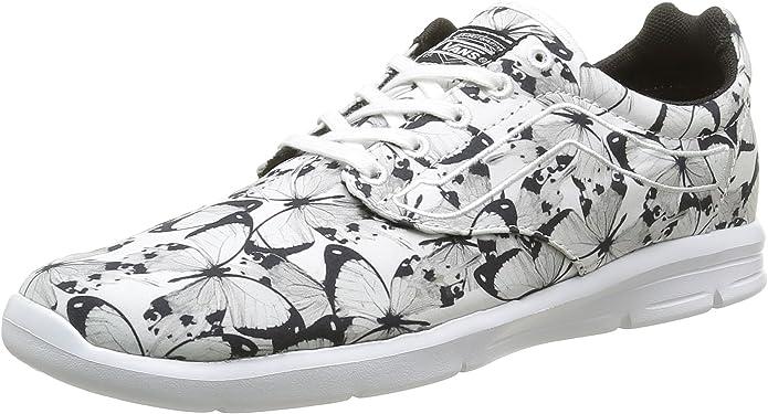 Vans Iso 1.5 Sneakers Unisex Damen Herren Schwarz Weiß Schmetterlinge