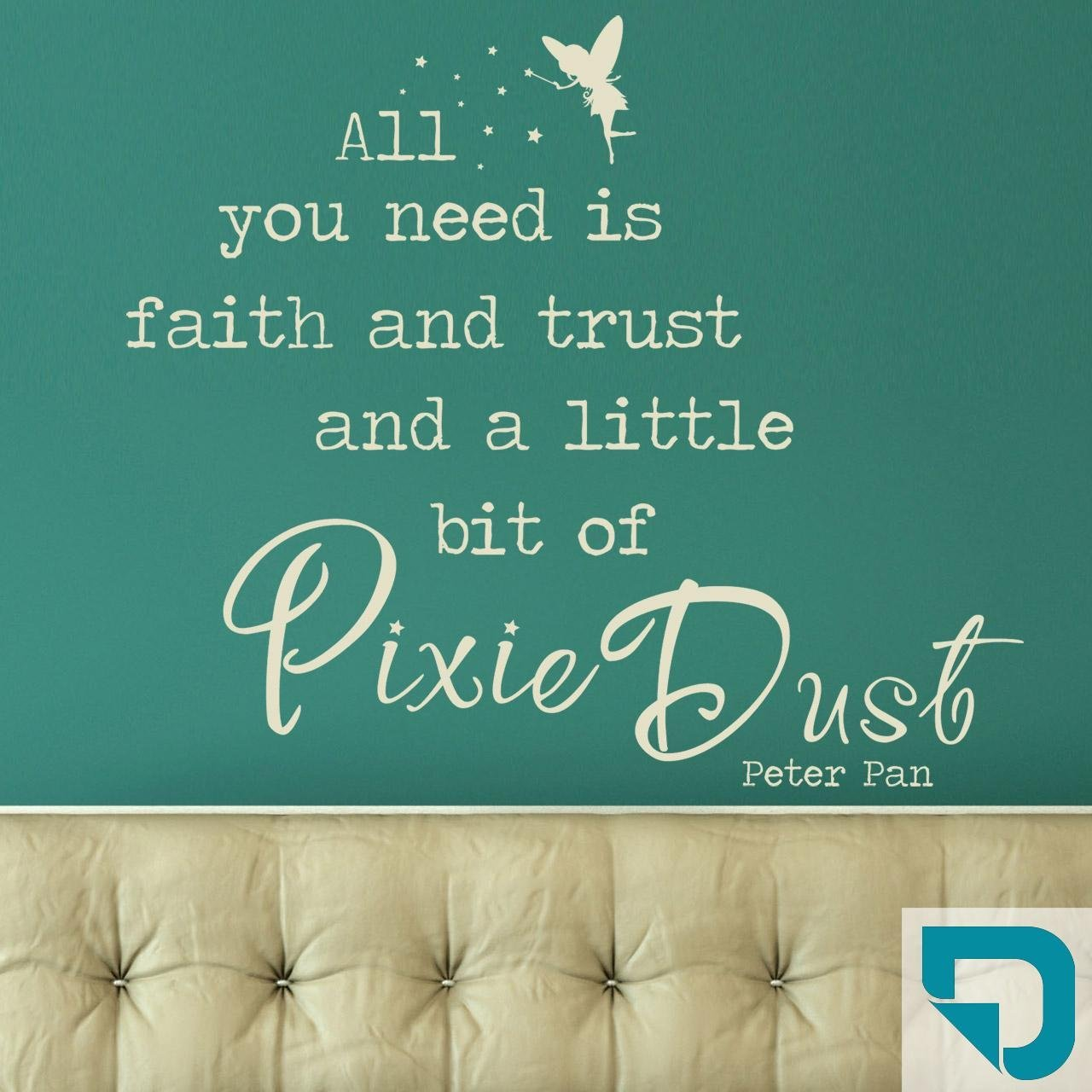 DESIGNSCAPE® Wandtattoo All All All you need is faith and trust an a little bit of Pixie Dust - Peter Pan Zitat 90 x 77 cm (Breite x Höhe) braun DW802125-M-F9 B01FSB67FM Wandtattoos & Wandbilder 2c5bac
