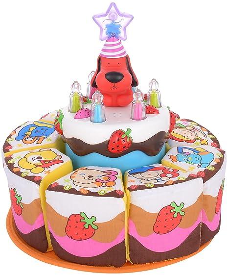 Buy Ks Kids My Singing Birthday Cake Multi Color Online At Low Prices In India