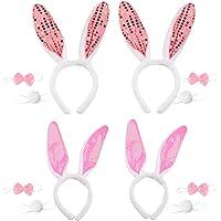 TAZEMAT 4 Unidades Conjunto de Disfraz de Conejo