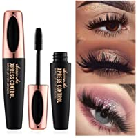 4D Silk Fiber Mascara Cream Makeup Eyelash Waterproof Create Glistened Eye Crazy Long