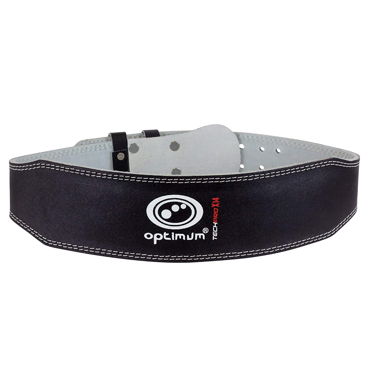Optimum Tech Pro X14 Leather Weight Lifting Belt