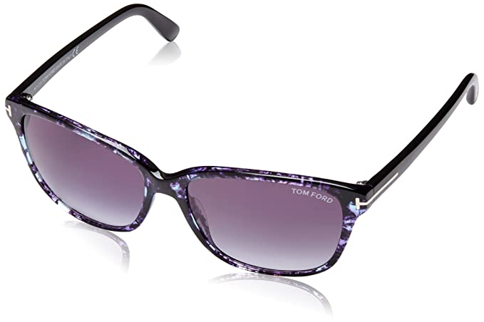 518dc49bef0 Image Unavailable. Image not available for. Color  Tom Ford TF432 55W  Sunglasses Dana Blue Gradient