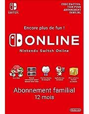Abonnement Nintendo Switch Online - 12 Mois - Abonnement familial | Switch - Version digitale/code