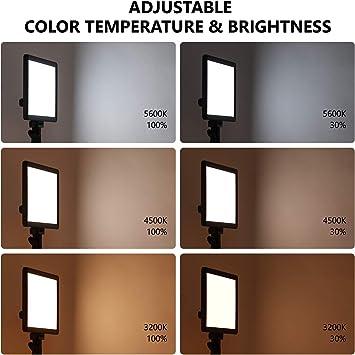 Neewer Ultra Slim Led Video Softlight Panel Dimmbar Kamera