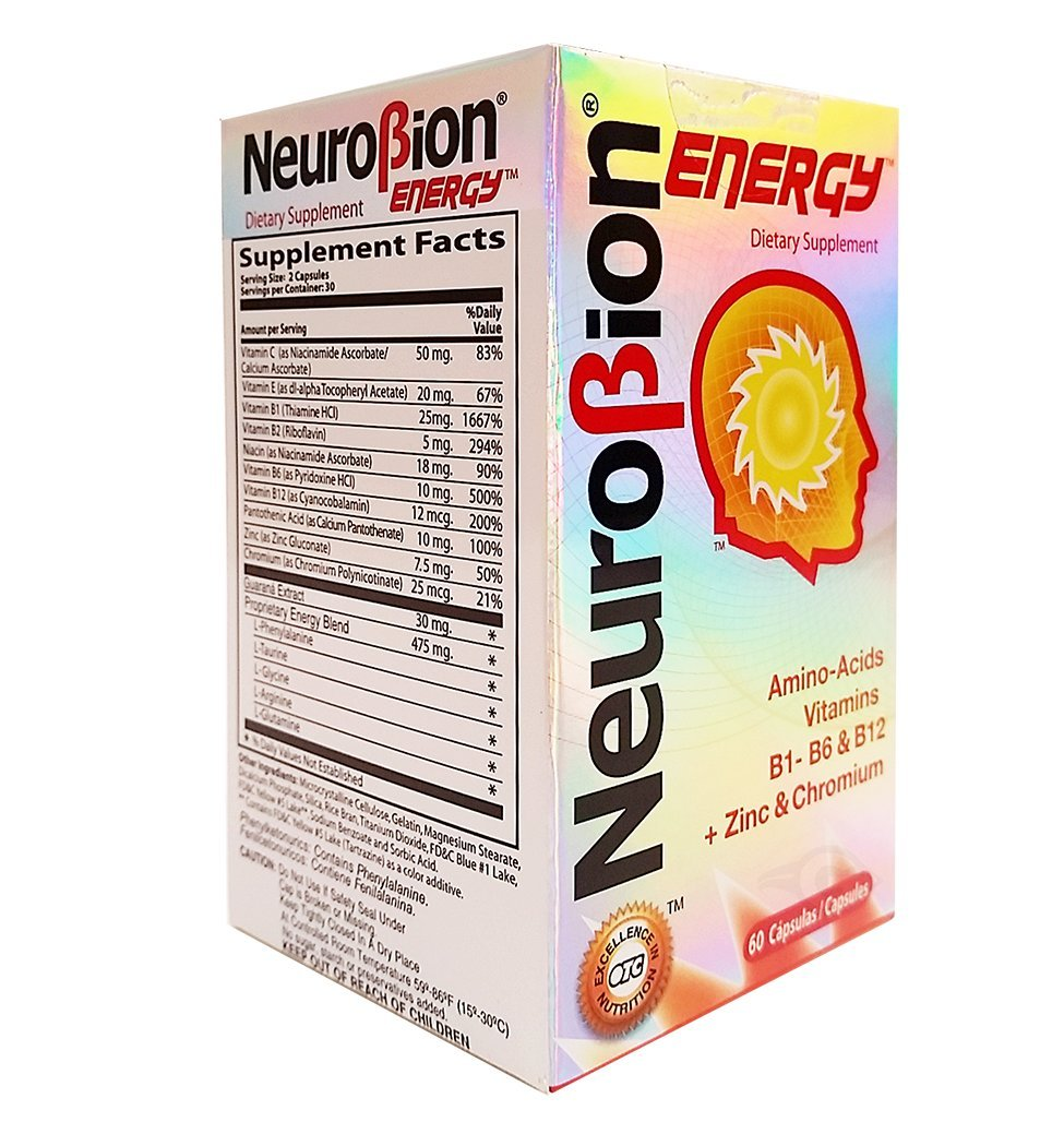 Amazon.com: OTC Neurobion Energy Dietary Supplement 60 Tabs - Suplemento Multivitaminico (Pack of 18): Health & Personal Care