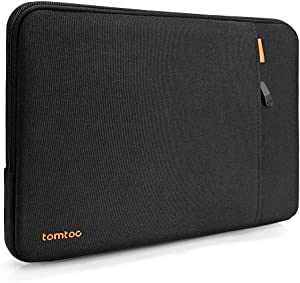 tomtoc 360° Protective Sleeve Case Designed for 2020 New Dell XPS 17, Waterproof Shockproof Notebook Bag with Accessory Pocket for Dell Precision 5750,Lenovo 720,Samsung Notebook 5 and More