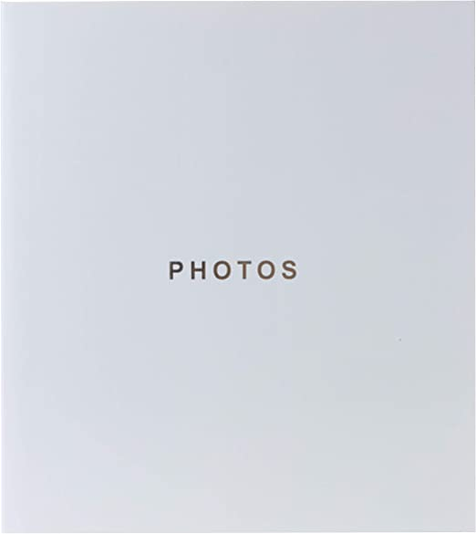 """SILVER or BLACK COVER PHOTO ALBUM 4 SIZES 4/"""" x 6/"""" 5/"""" x 7/"""" SLIP IN ADHESIVE MEMO"""