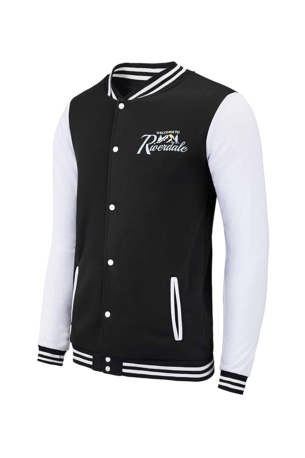 TRIFUNESS Unisex Riverdale Jacket -Southside Serpents Varsity Jacket Long Sleeves