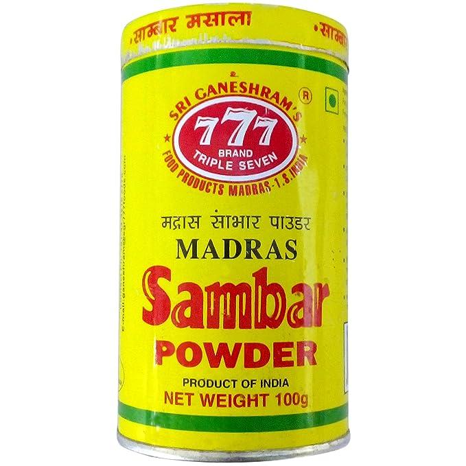 777 Sambar Powder, 100g Can