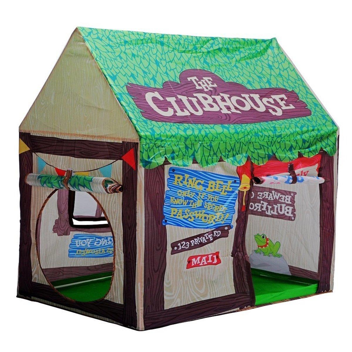 LF DD Tienda de juego de los niños que imprime la casa plegable del almacenamiento del juego del bebé (embalaje verde de 43.3  27.6  39.4 pulgadas de 1)