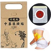 10pcs potenti adesivi dimagranti pasta magro vita pancia pancia brucia patch medicina cinese prodotti dimagranti per l'assistenza sanitaria marrone