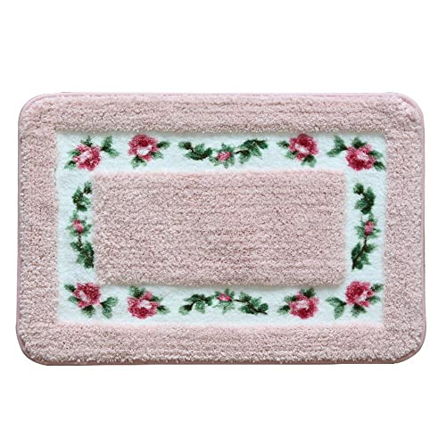 Floral Bathroom Rugs: Amazon.com