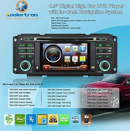 Amazon.com: DVD GPS Radio OEM Navigation for Jeep Grand Cherokee Dodge RAM Chrysler Sebring: GPS & Navigation