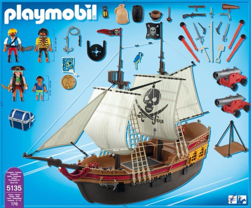 Playmobil 5135 Pirate Ship Replacement Part