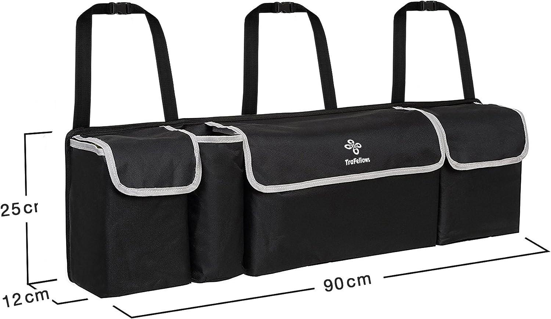 LKW Kofferraum Einkaufstasche Reisen langlebig gro/ß REALMAX/® Kofferraum-Organizer robust ordentlich faltbar Zuhause 2-in-1 f/ür SUV faltbar geringes Gewicht Minivan tragbar