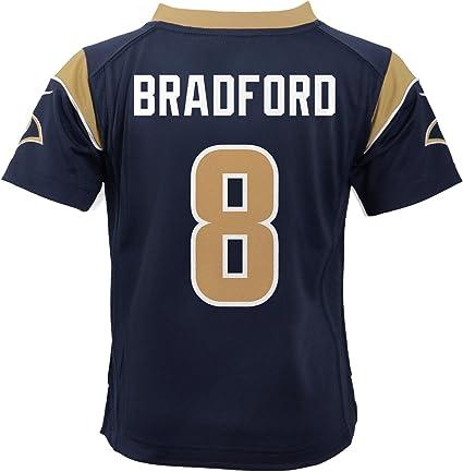 Amazon.com : Nike Sam Bradford St. Louis Rams Home Navy Blue ...