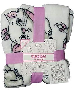 Primark Disney Aristocats Marie The Cat Fleece Cama Blanket Throw