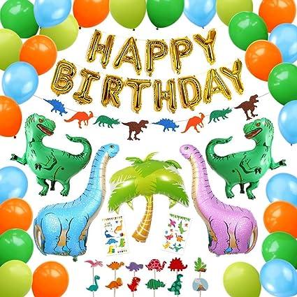 Amazon.com: Juego de 92 decoraciones de cumpleaños con ...