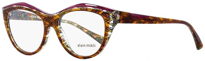 3ed2d9a5b0f Amazon.com  Alain Mikli Rx Eyeglasses Frames A03041 4115 52x16 ...